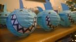 Japanese paper lantern sharks