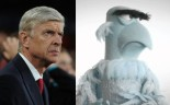 arsene wegner sam the eagle