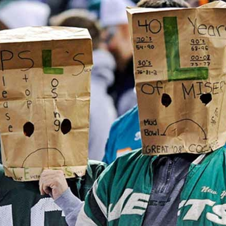 Image result for new york jets fan paper bag