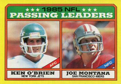 ken obrien joe montana card