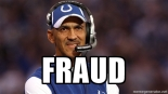 tony dungy fraud