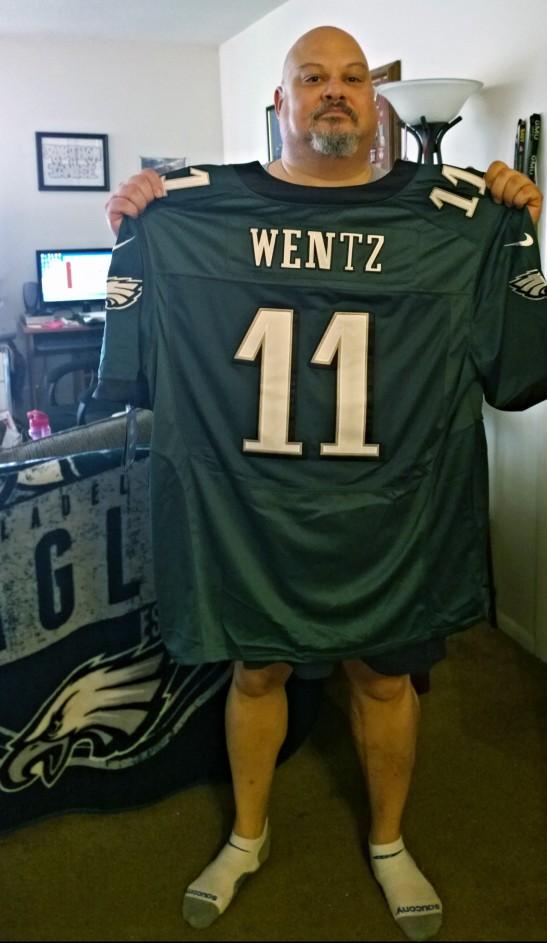 jw with wentz jersey
