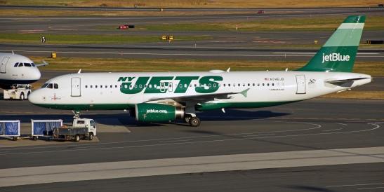 NY Jets jet