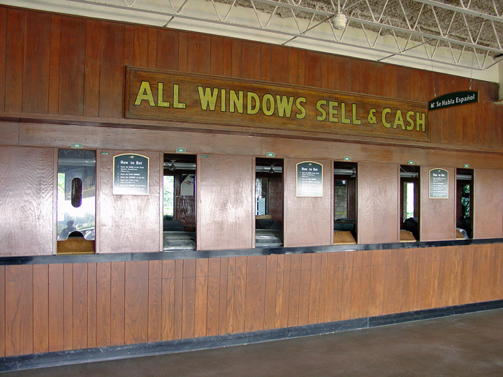 Horse track betting window photo online sports betting casino poker horse racing at