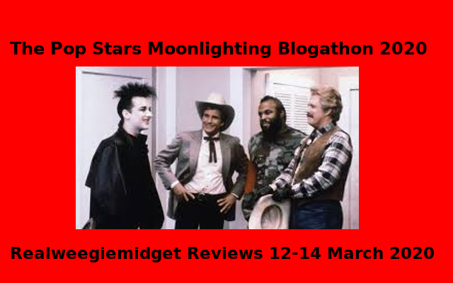 pop stars moonlighting blogathon